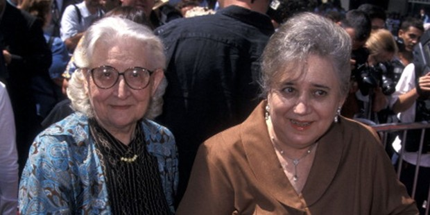 Nicolas Cage's grandmother (left) and Joy Vogelsang (Nicolas Cage's mother)