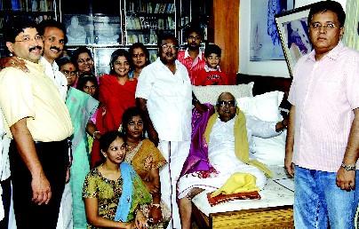Kalanithi Maran Family
