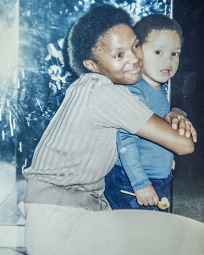 Trevor Noah With his Mother Patricia