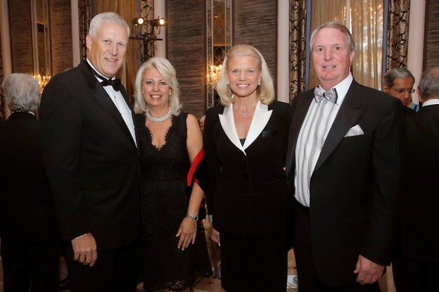Ginni Rometty With Her Husband Mark Anthony Rometty