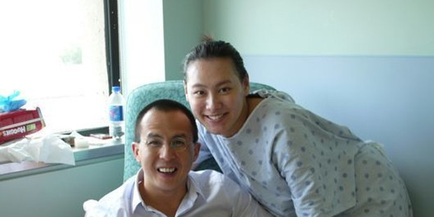 Richard Li With His Wife Isabella leong