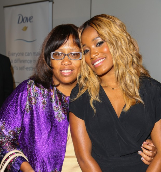 Keke Palmer With His Mother sharon palmer