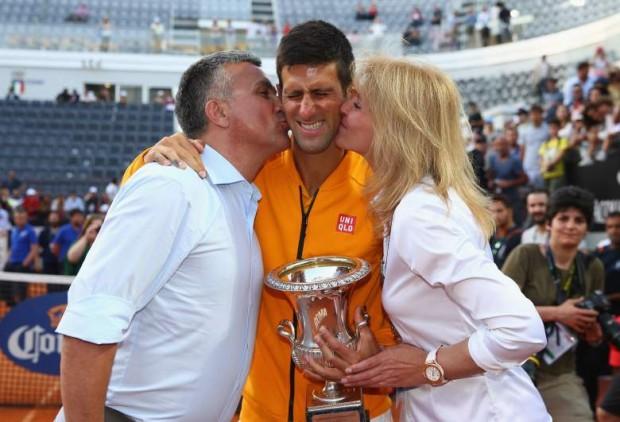 Novak Djokovic Parents