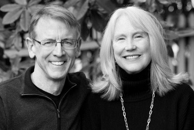 John Doerr With His Wife Ann Doerr