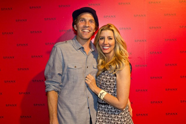 Sara Blakely With His Husband Jesse Itzler