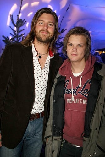 Avicii With his Brother Anton