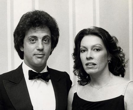 Billy Joel With His First wife Elizabeth Weber