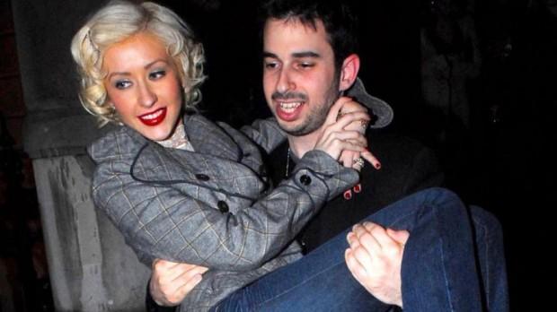 Christina Aguilera with Ex-Husband Jordan Bratman