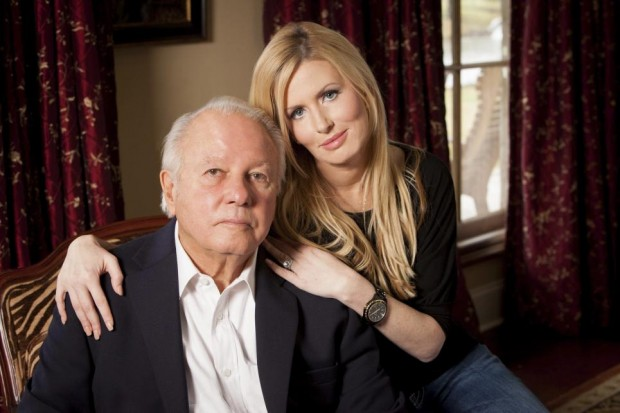 Edwin Edwards with his wife Trina Grimes