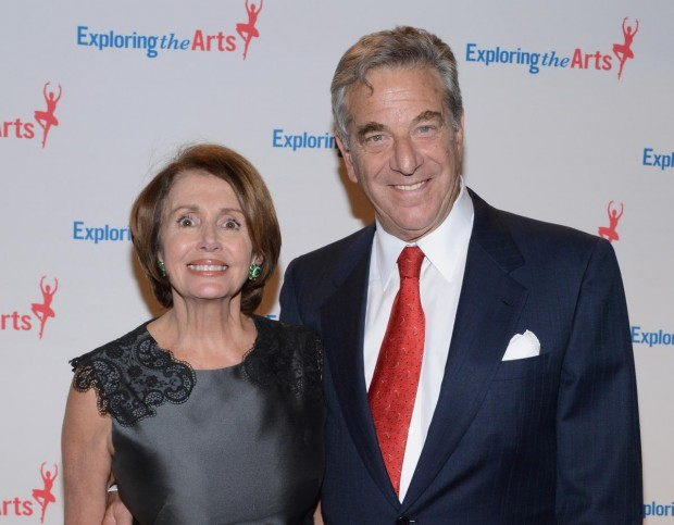 Nancy Pelosi With His Husband Paul Pelosi