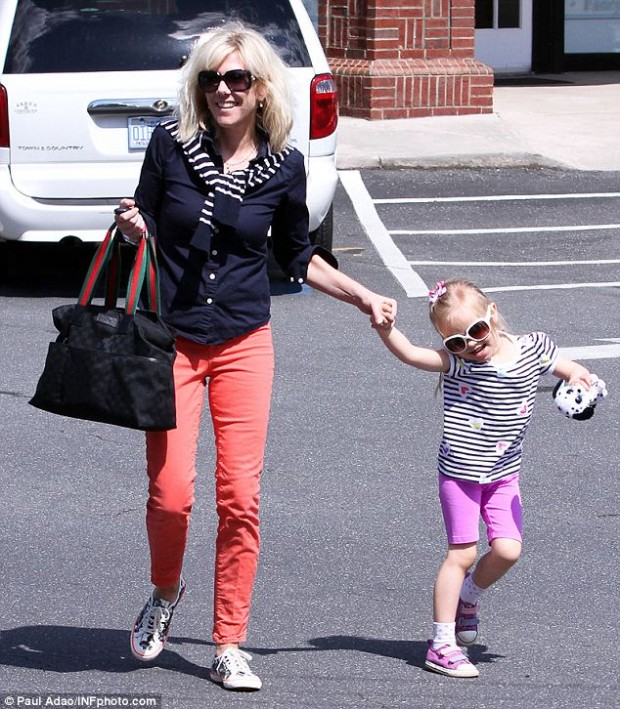 Rielle Hunter and her daughter Quinn