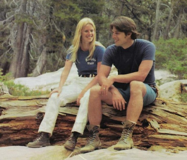 Tipper Gore Young With His Husband Al Gore