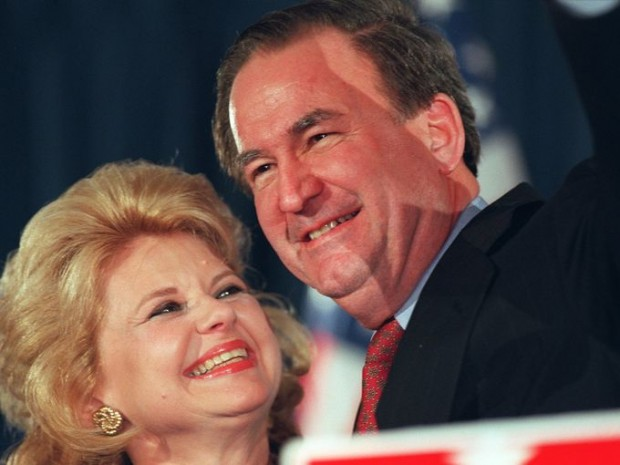 Pat Buchanan With Wife Shelley Scarney