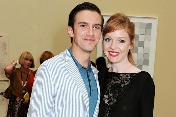 Dan Stevens With his Wife Susie Hariet
