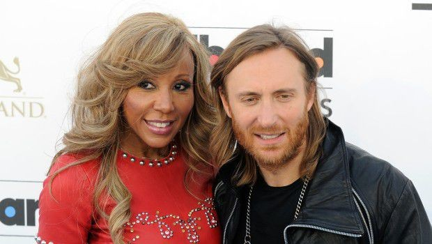 David Guetta With His Wife Cathy Guetta