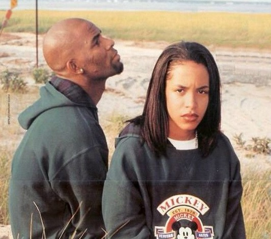 Aaliyah With His Husband R.Kelly