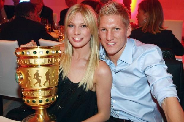 Bastian Schweinsteiger With Ex Partner Sarah