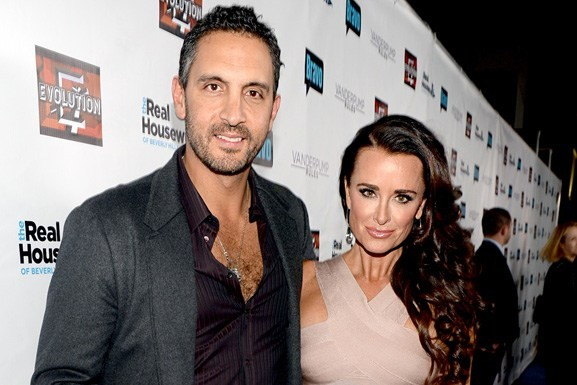 Kyle Richards With His Husband Mauricio Umansky
