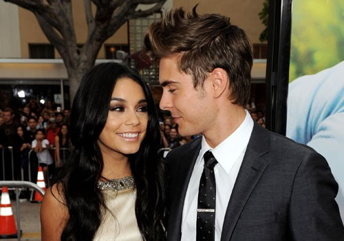 Zac Efron With His Ex-Partner Vanessa Hudgens