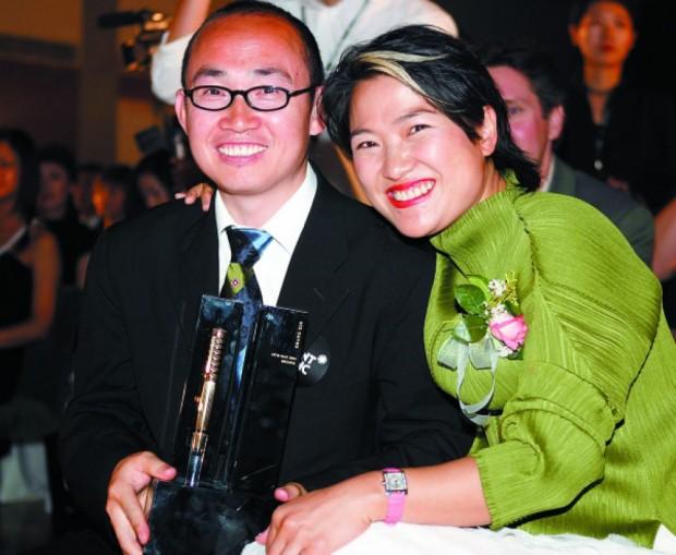 Zhang Xin With His Husband Pan Shiyi