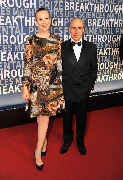 Yuri Milner With his Wife Julia Milner