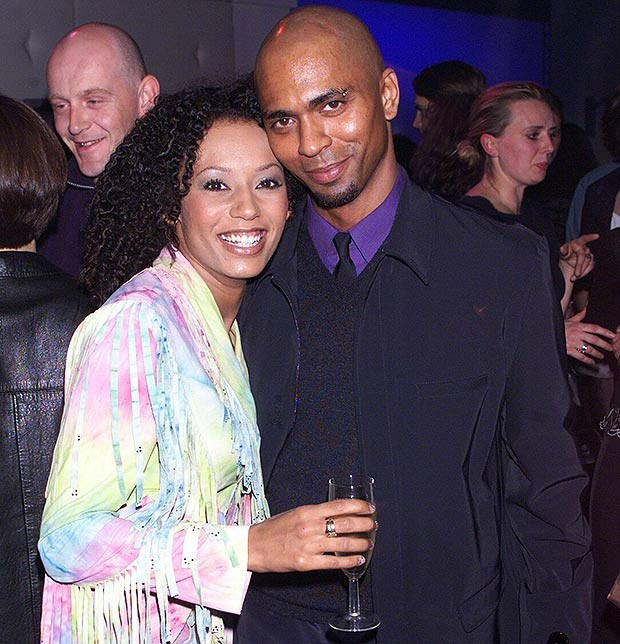 Mel B With his Ex-husband Jimmy Gulzar