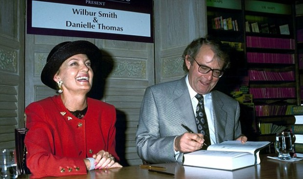 Wilbur Smith With His Ex-Wife Danielle Antoinette Thomas