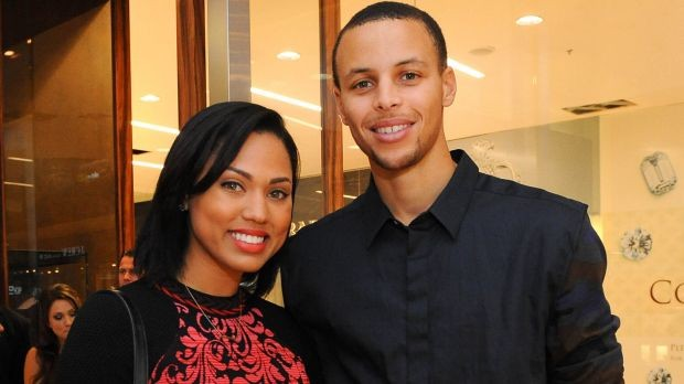 Stephen Curry and Wife