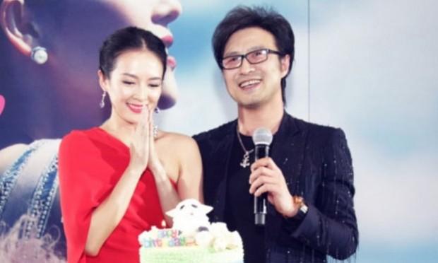 Zhang Ziyi With His Husband Wang Feng