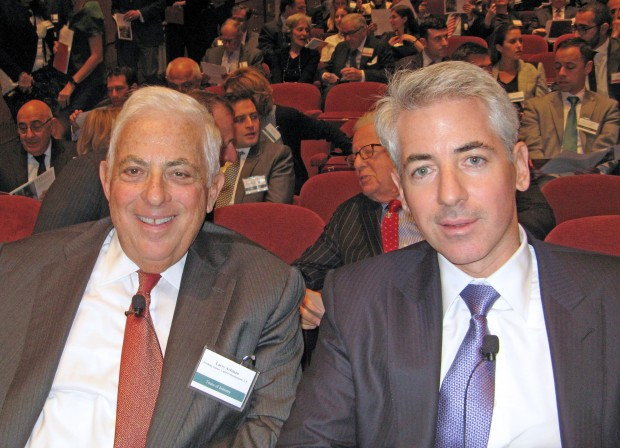 William Ackman and his father Lawrence Ackman
