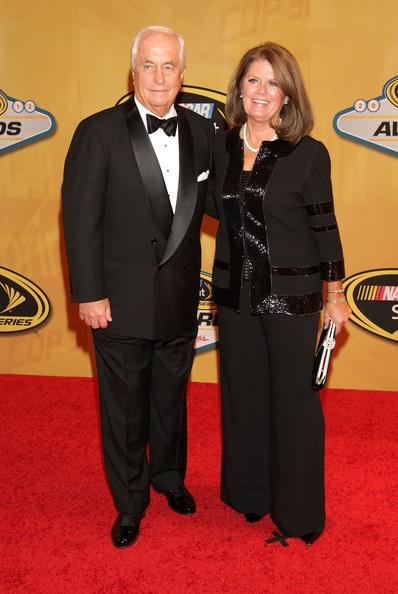 Roger Penske and his wife Verizon Kathy Penske