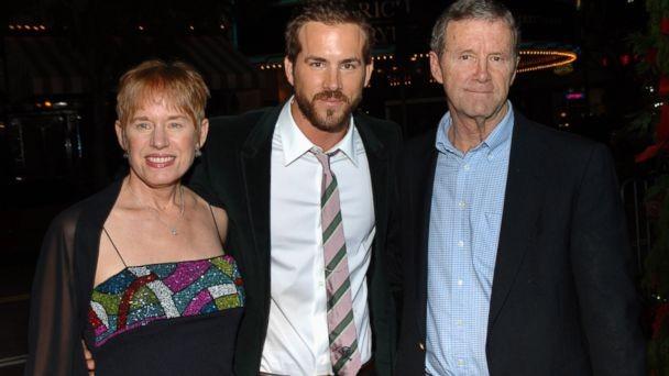 Ryan Reynolds with his parents Tammy Reynolds, Jim Reynolds