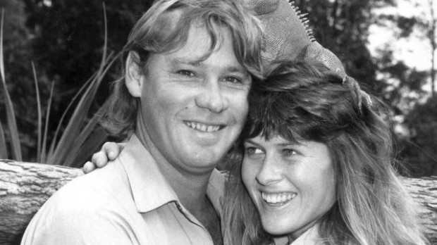 Terri Irwin with Her Husband Steve Irwin