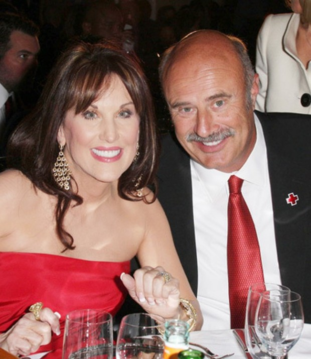 Dr. Phil With His Wife Robin McGraw