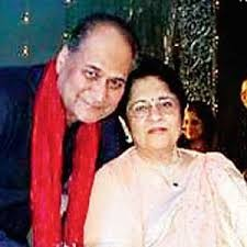 Rahul Bajaj With His Wife