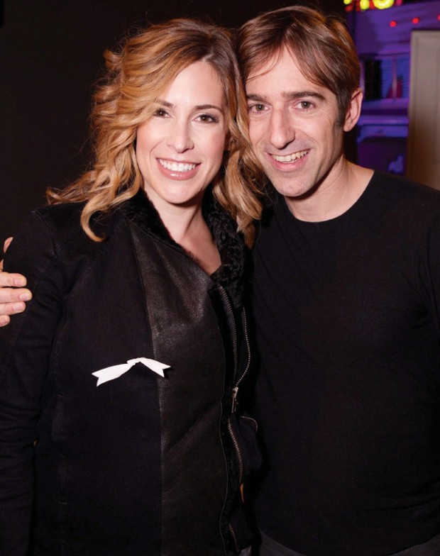 Mark Pincus With His Wife