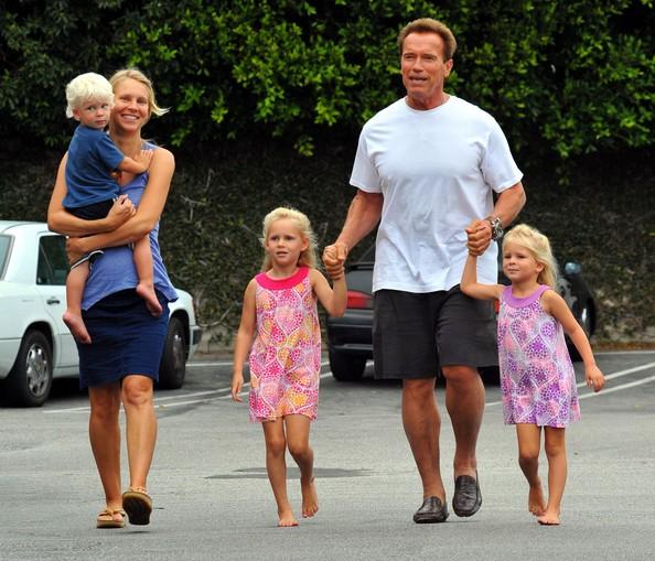 Arnold Alois Schwarzenegger Family