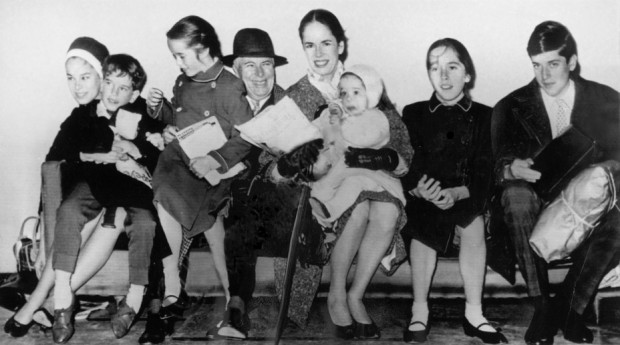 Charles Spencer Chaplin Family