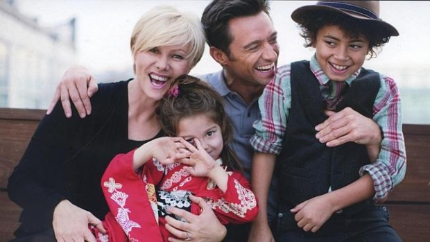 Hugh Michael Jackman Family