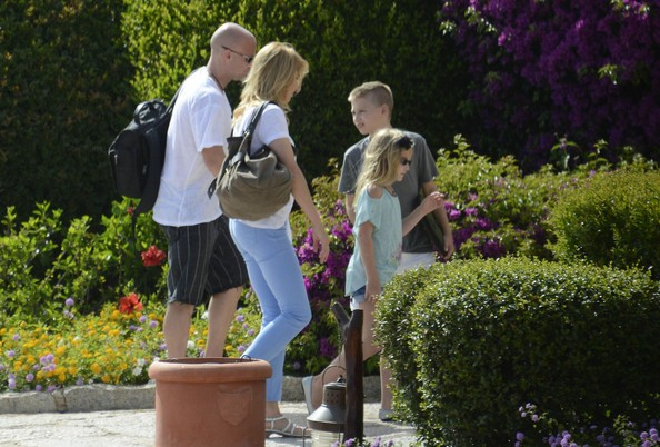 Steffi Graf with Children