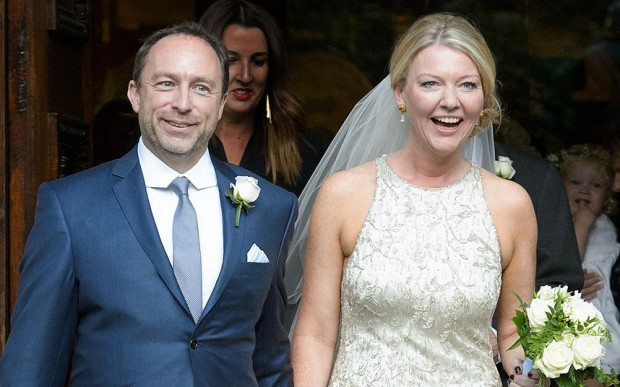 Jimmy Wales Wife