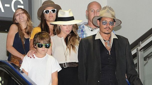 Johnny Depp Family