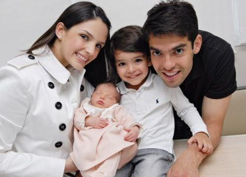 Kaka with his family