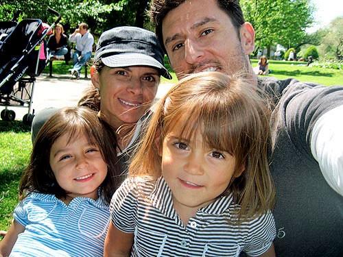 Mia Hamm Family
