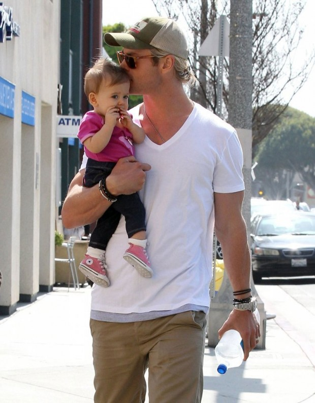 Chris Hemsworth Daughter