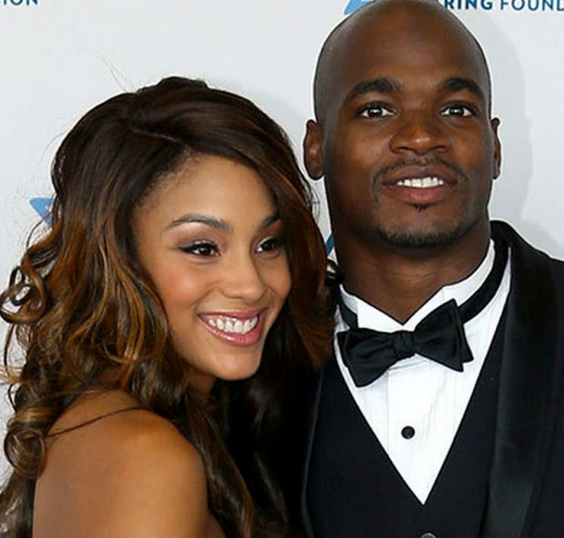 Adrian Peterson Spouse