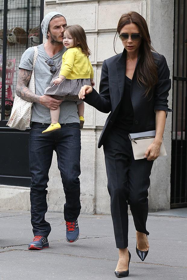 David Robert Joseph Beckham Family
