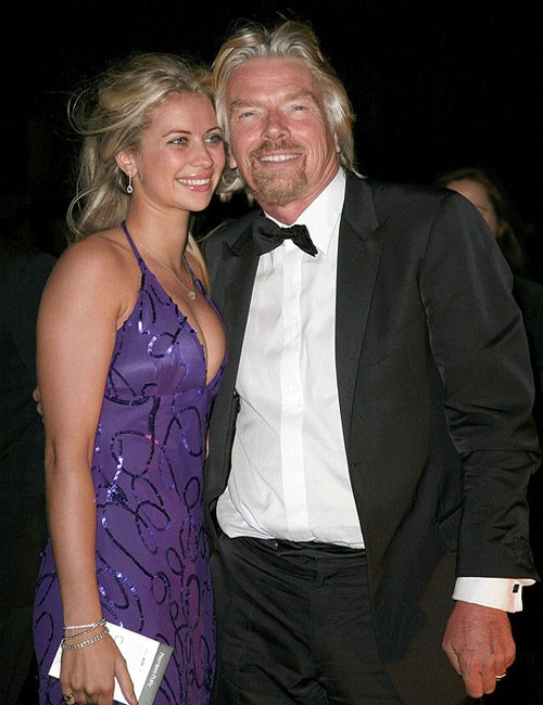 Richard Branson Daughter Clare Sarah Branson