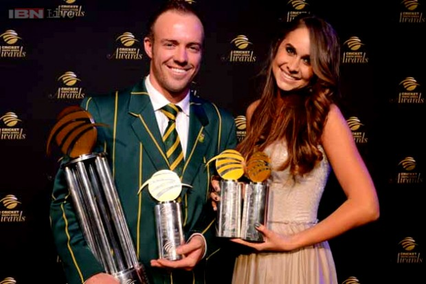AB de Villiers and His Wife Danielle de Villiers