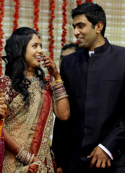 Ravichandran Ashwin Spouse